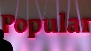 Imagen de archivo del logo del Banco Popular