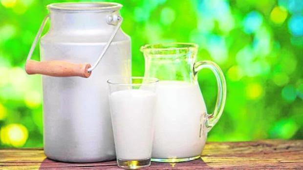 Imagen de archivo de distintos tipos de leche