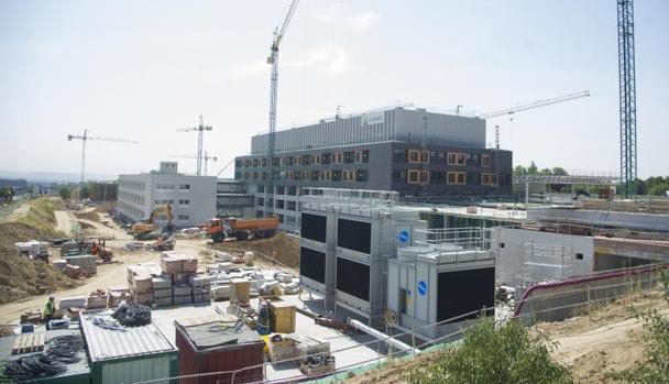 Estado de las obras del nuevo campus universitario, a cinco minutos del aeropuerto de Barajas