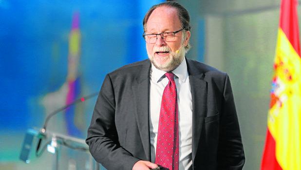Hausmann, hace unos días en la Fundación Rafael del Pino de Madrid
