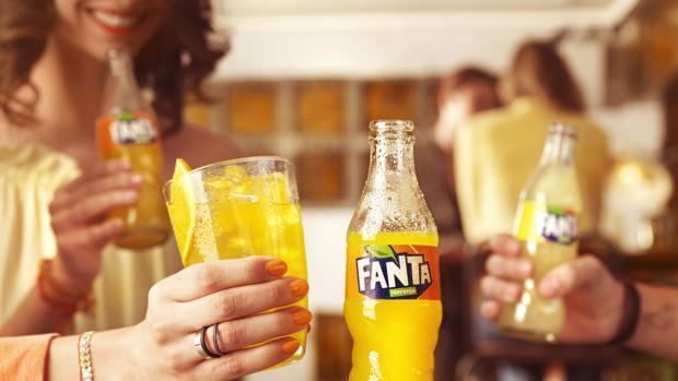 Nueva botella de Fanta