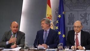 El minsitro de Economía, Luis de Guindos