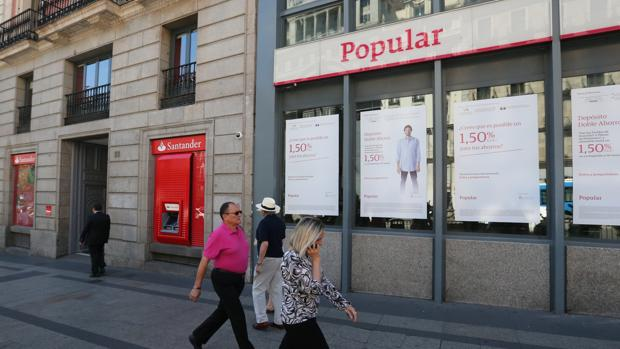 Accionista del popular no se precipite en demandar for Oficinas banco santander zaragoza capital