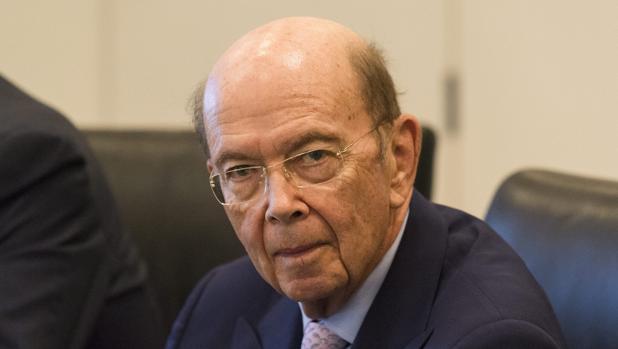 Wilbur Ross, secretario de estado de Comercio