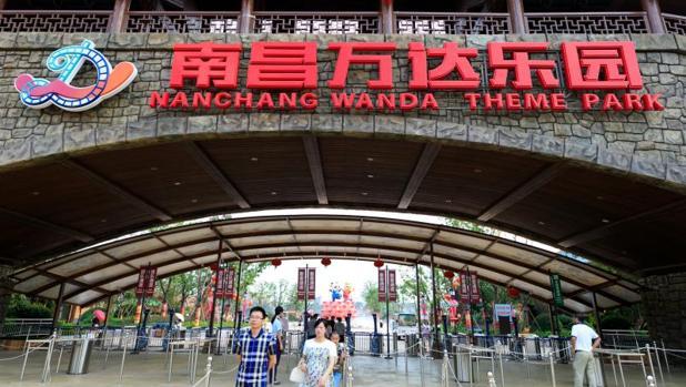 Una imagen del Wanda Theme Park de la localidad de Nanchang