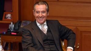 Miguel Blesa, en 2010, en su despacho como presidente de Caja Madrid