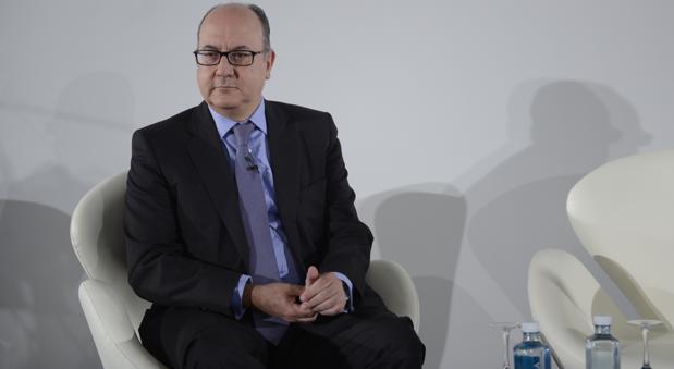 José María Roldán, presidente de AEB, en un reciente acto organizado por ABC