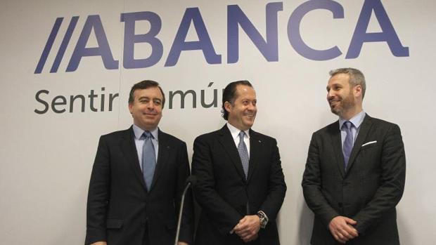 Presentación de resultados de Abanca en 2016
