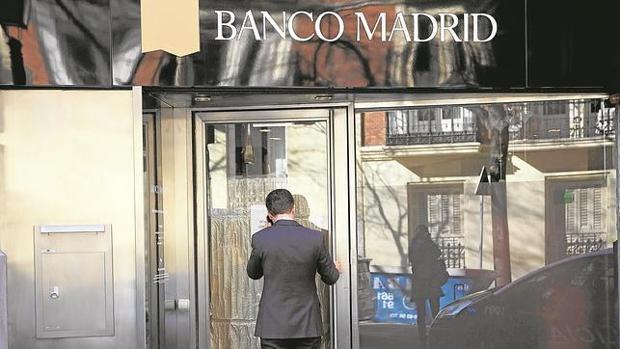 Antigua sucursal de Banco Madrid