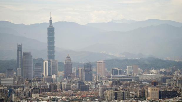 Edificios residenciales y comerciales en Taipei (Taiwán)