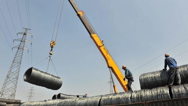 Este tipo de acero se usa en la industria de la construcción para el revestimiento