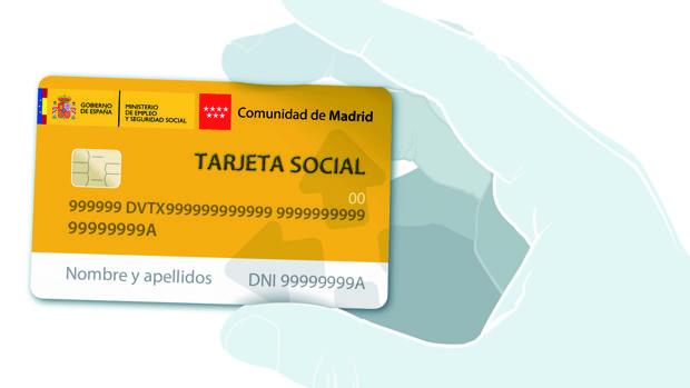 Madrid ya ha anunciado la puesta en marcha de su tarjeta social