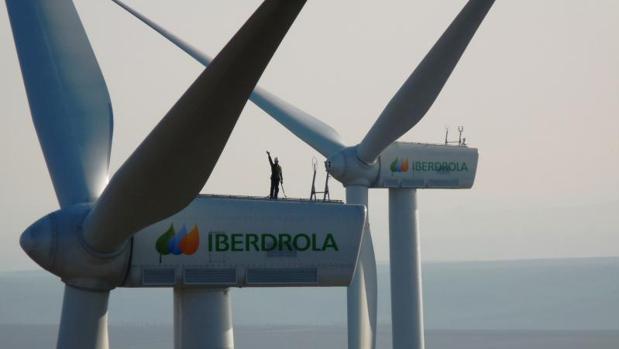 Campo eólico de Iberdrola