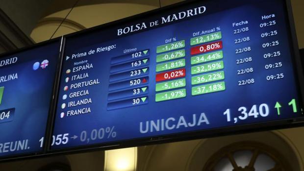 Prima de riesgo española abre la sesión estable