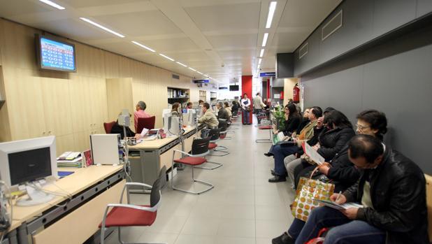 Oficina de empleo en Cataluña