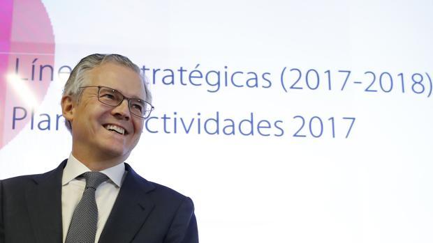 El presidente de la CNMV, Sebastián Albella