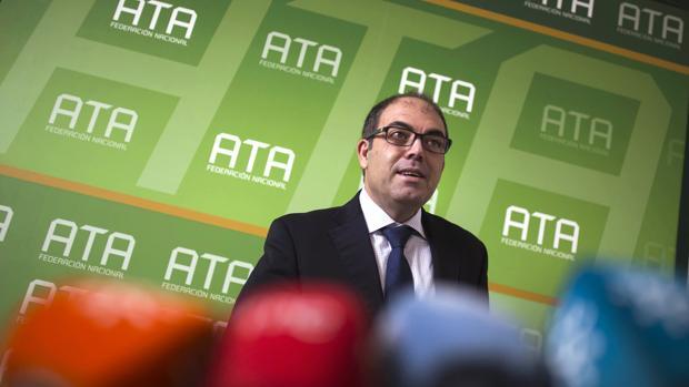 El presidente de la Asociación de Trabajadores Autónomos (ATA), Lorenzo Amor