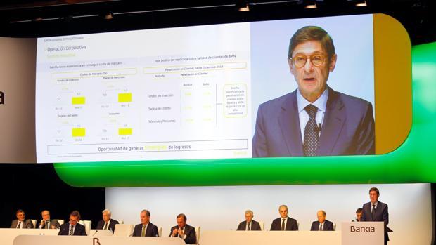 Goirigolzarri: «La fusión Bankia-BMN nos consolidará como cuarto banco de España»