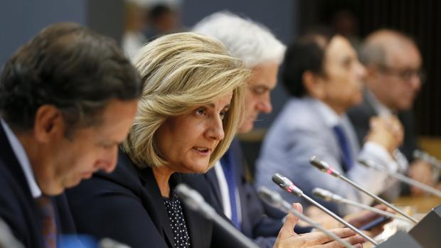 Fátima Báñez. ministra de Empleo