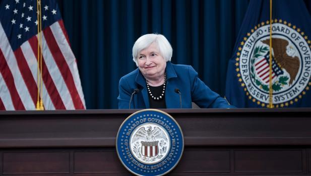 Janet Yellen, presidenta de la Fed, en una imagen de archivo