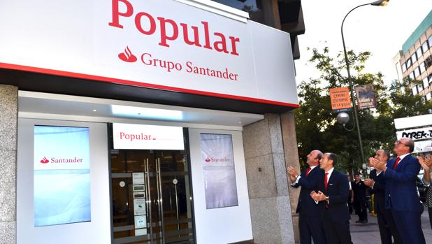 Banco santander comienza la integraci n con el popular con for Oficinas banco popular murcia