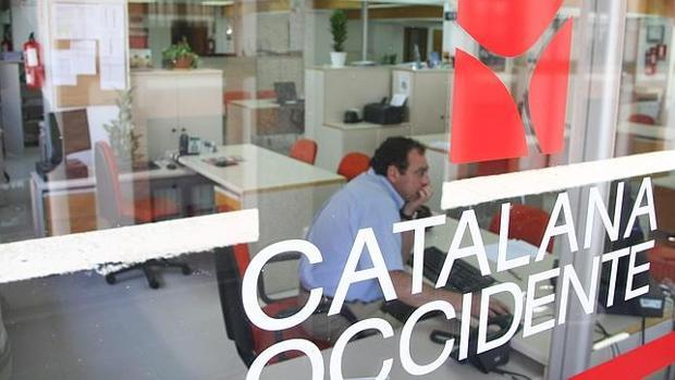 Una oficina de Catalana Occidente en Valladolid