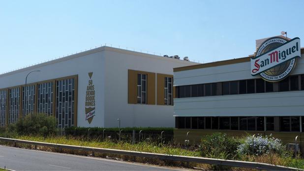 Centro de producción de Cervezas San Miguel en Málaga