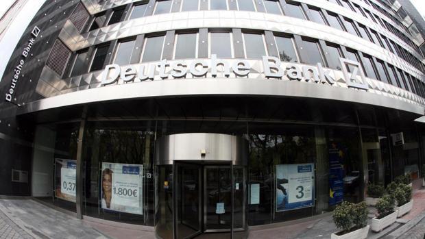 Sede de Deutsche Bank en España en el paseo de la Castellana de Madrid
