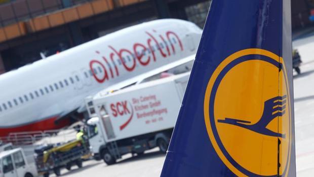 Lufthansa adquirió parte de Air Berlin (81 aeronaves) la semana pasada