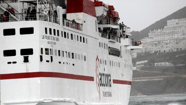 Naviera Armas asumirá el repago de deuda de Trasmediterráneacon otras sociedades de Acciona