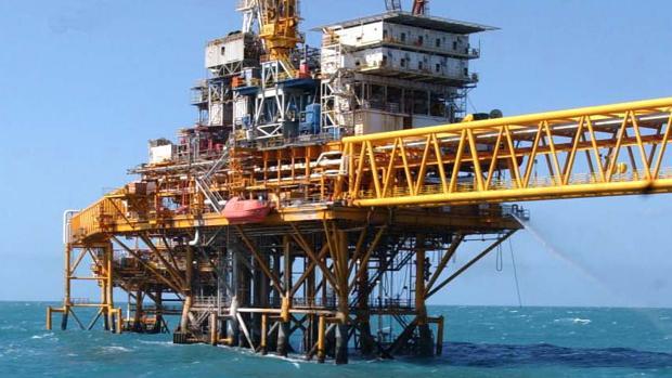 Plataforma petrolífera en México