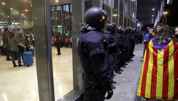 Jornada de huelga en Barcelona