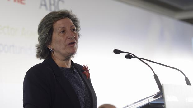La presidenta de Unespa, Pilar González de Frutos, en una imagen de archivo