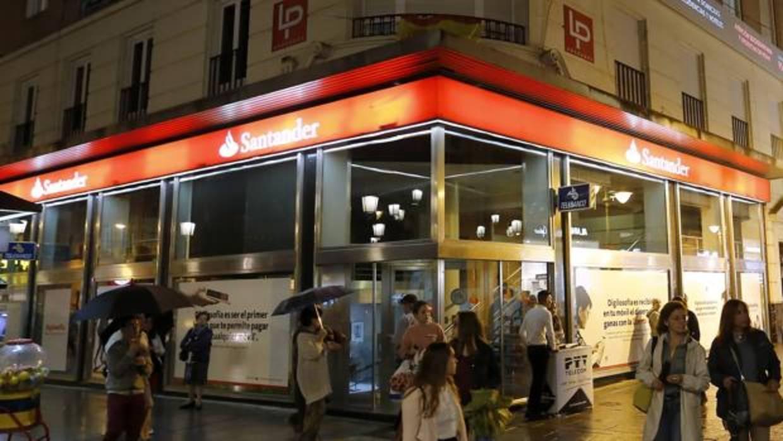 Santander rebaja el saldo remunerado de su cuenta 1 2 3 for Oficina santander madrid