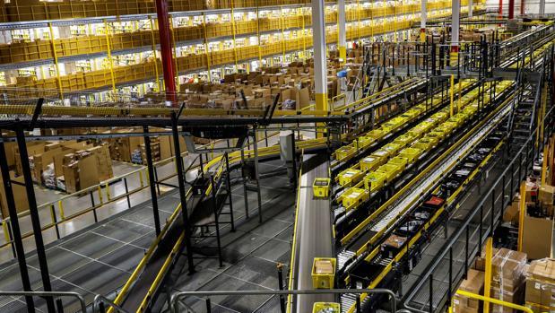 Centro logístico de Amazon en Torrejón de Ardoz, Madrid