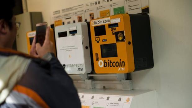 Cajero del bitcoin