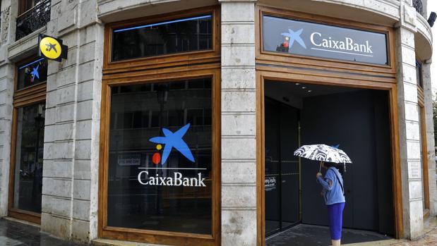 Caixabank fue de las primeras en trasladar su sede social, en este caso a Valencia