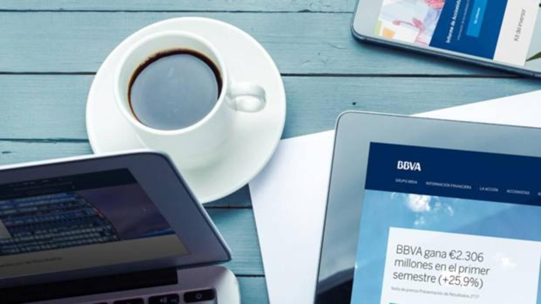 BBVA renueva su web de accionistas e inversores