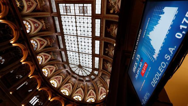 Imagen de la Bolsa de Madrid