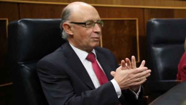 La empresa pública de Loterías (Selae) está adscrita al Ministerio de Hacienda. En la imagen, el ministro Cristóbal Montoro