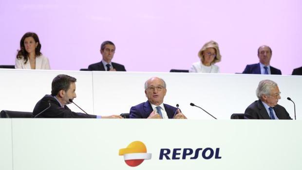 Junta de accionistas de Repsol el pasado mayo