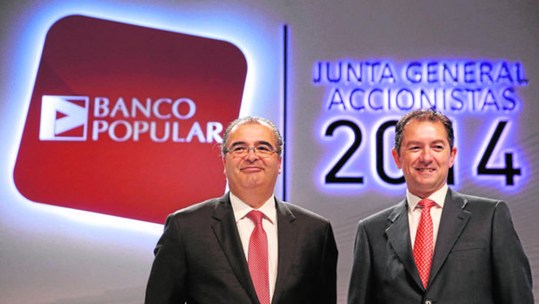 El Santander reclama 25 millones en bonus a la excúpula del Popular
