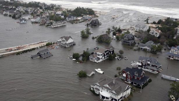 El huracán «Sandy» es uno de los muchos que ha azotado Estados Unidos en los últimos años