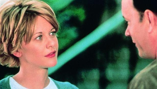 Fotograma de la película «Tienes un email» protagonizada por Meg Ryan y Tom Hanks