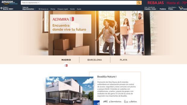 Amazon empieza a anunciar casas de Altamira
