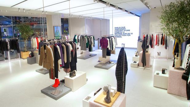 Nueva tienda de Zara especializada en internet dentro del centro comercial Westfield en Stratford (Londres)