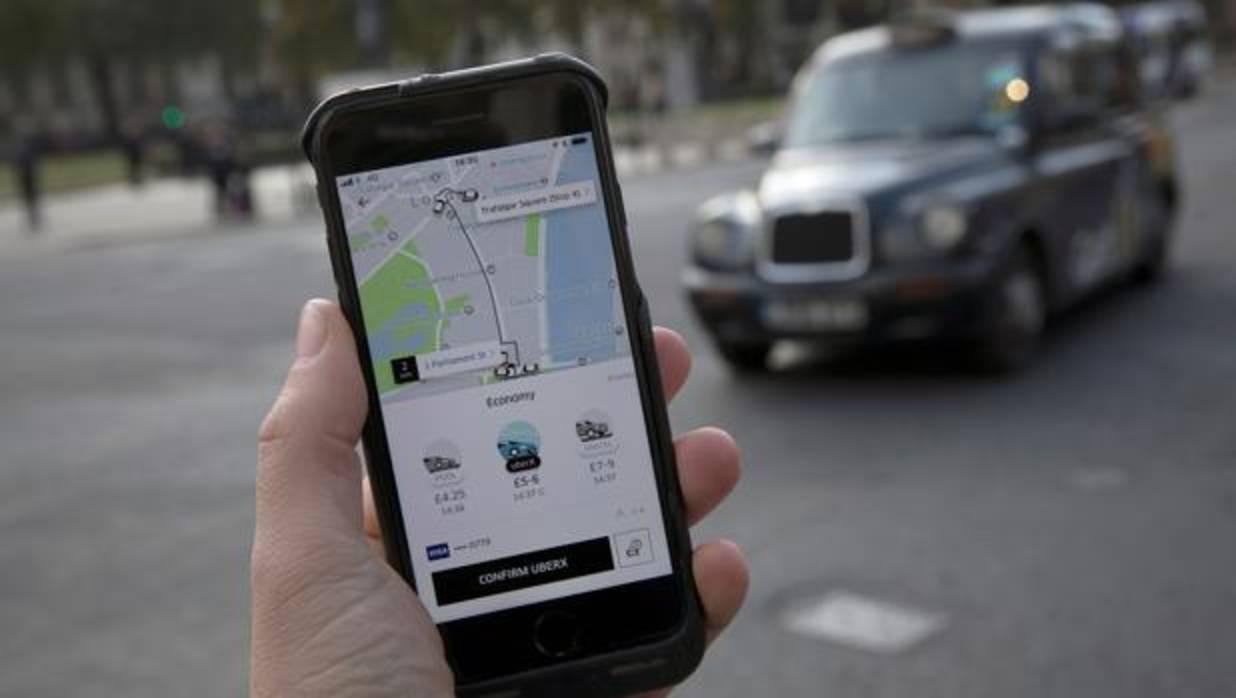 Uber opera en Madrid desde 2016 - REUTERS