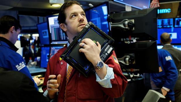 Inversores en la Bolsa de Nueva York