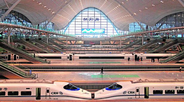 China es una gran potencia en el desarrollo de trenes de alta velocidad