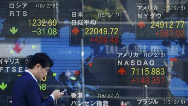 La Bolsa de Tokio cae un 1,75% en la apertura